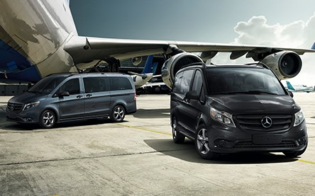 Mercedes Minivan Airport Transfer